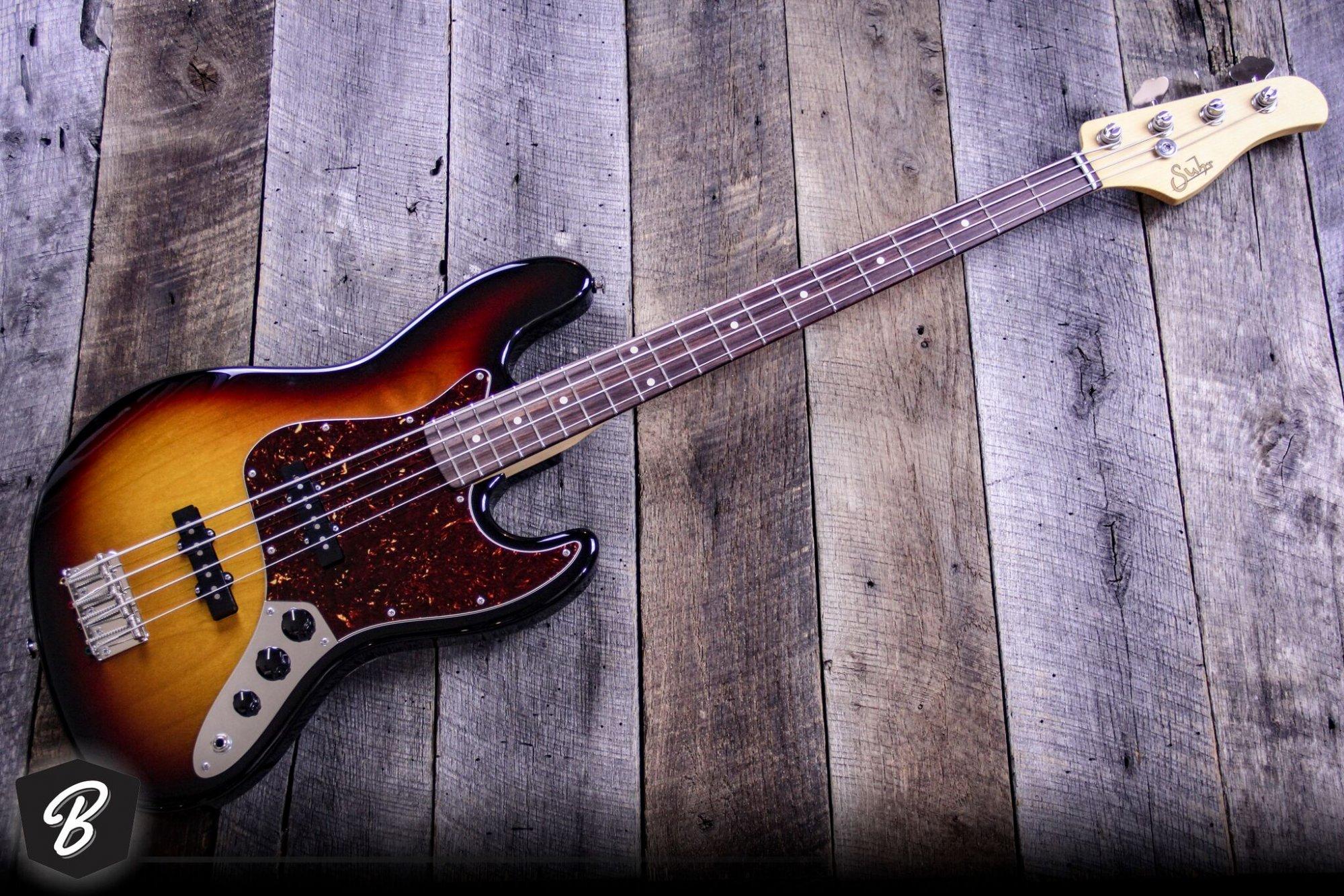 Suhr J Pro Bass in 3-Tone Burst