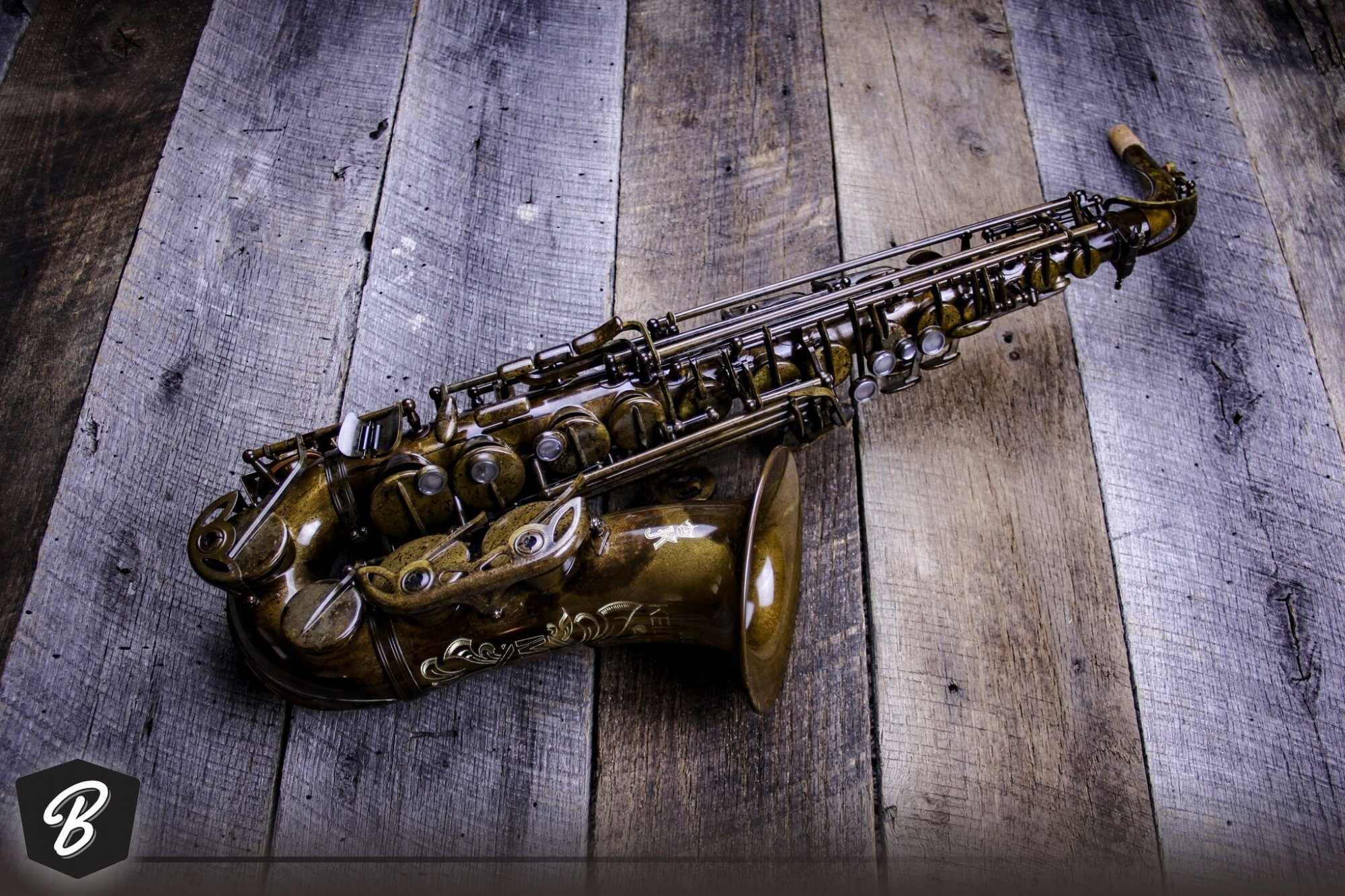 Julius Keilwerth MKX Alto Saxophone in Antique Brass