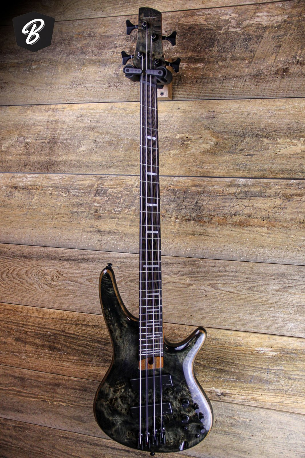 Ibanez SRMS800 Multi-Scale Bass Guitar-  Deep Twilight Finish