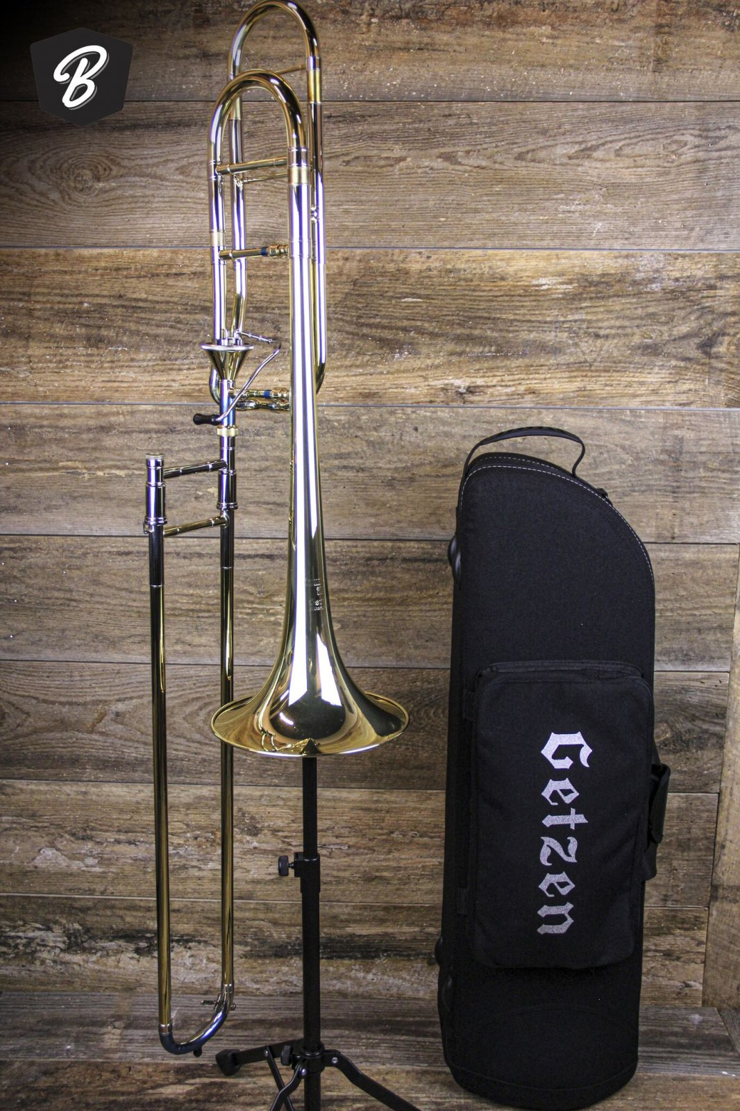 Getzen Custom 3047AF Trombone w/Axial Flow Valve & Gig Bag Case- Demo Horn