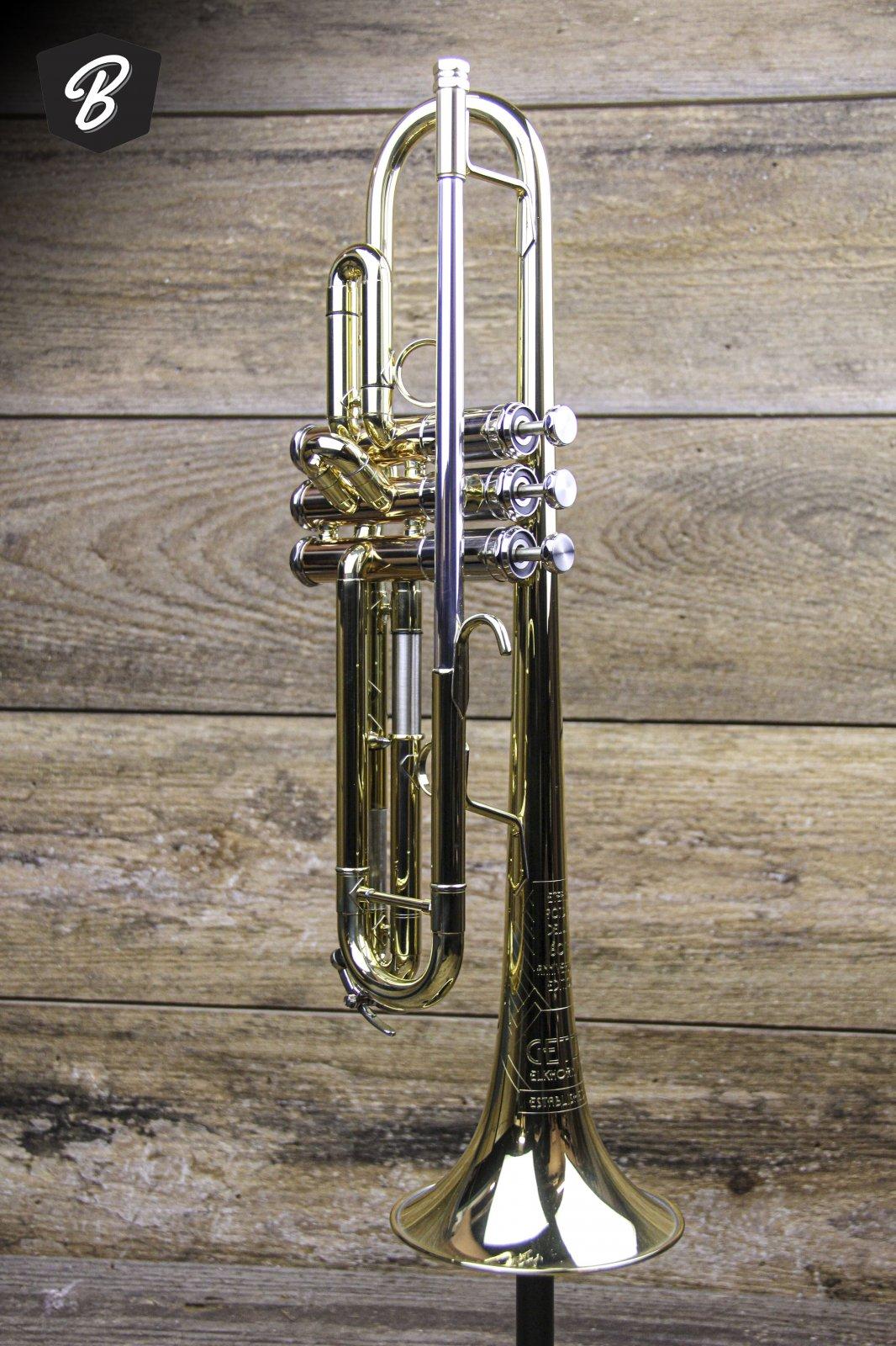 Getzen 907DLX Eterna Series Trumpet in Lacquer w/Case