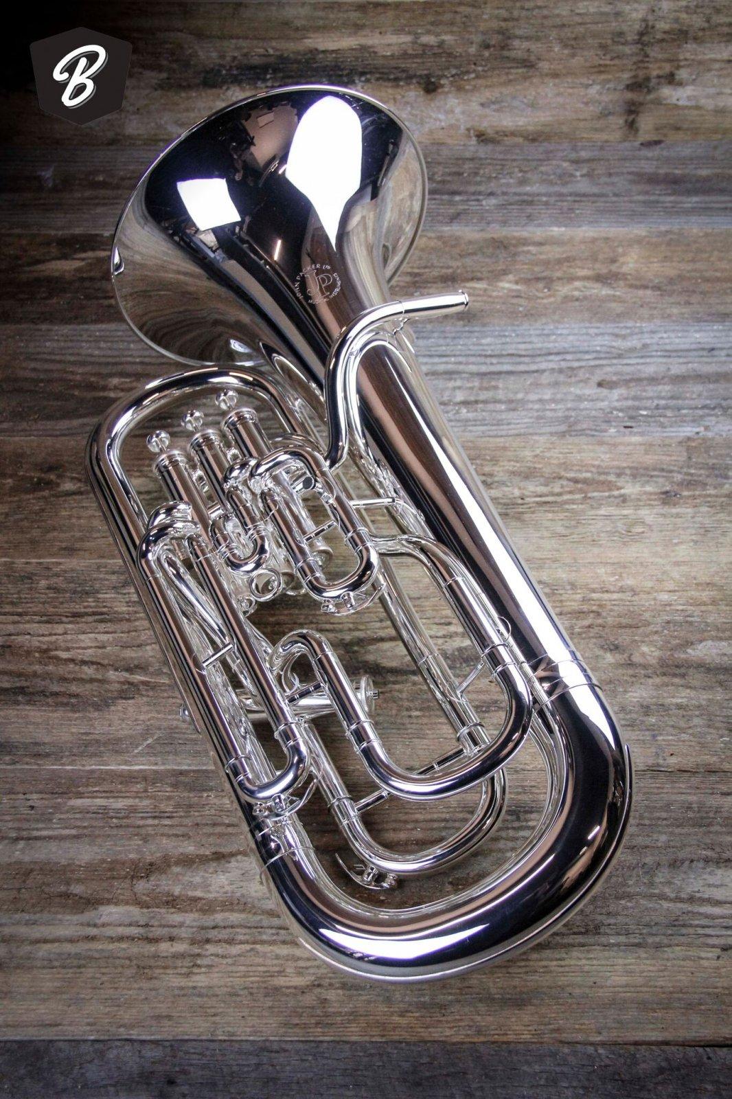 JP274S MKII Euphonium in Silver W/Case