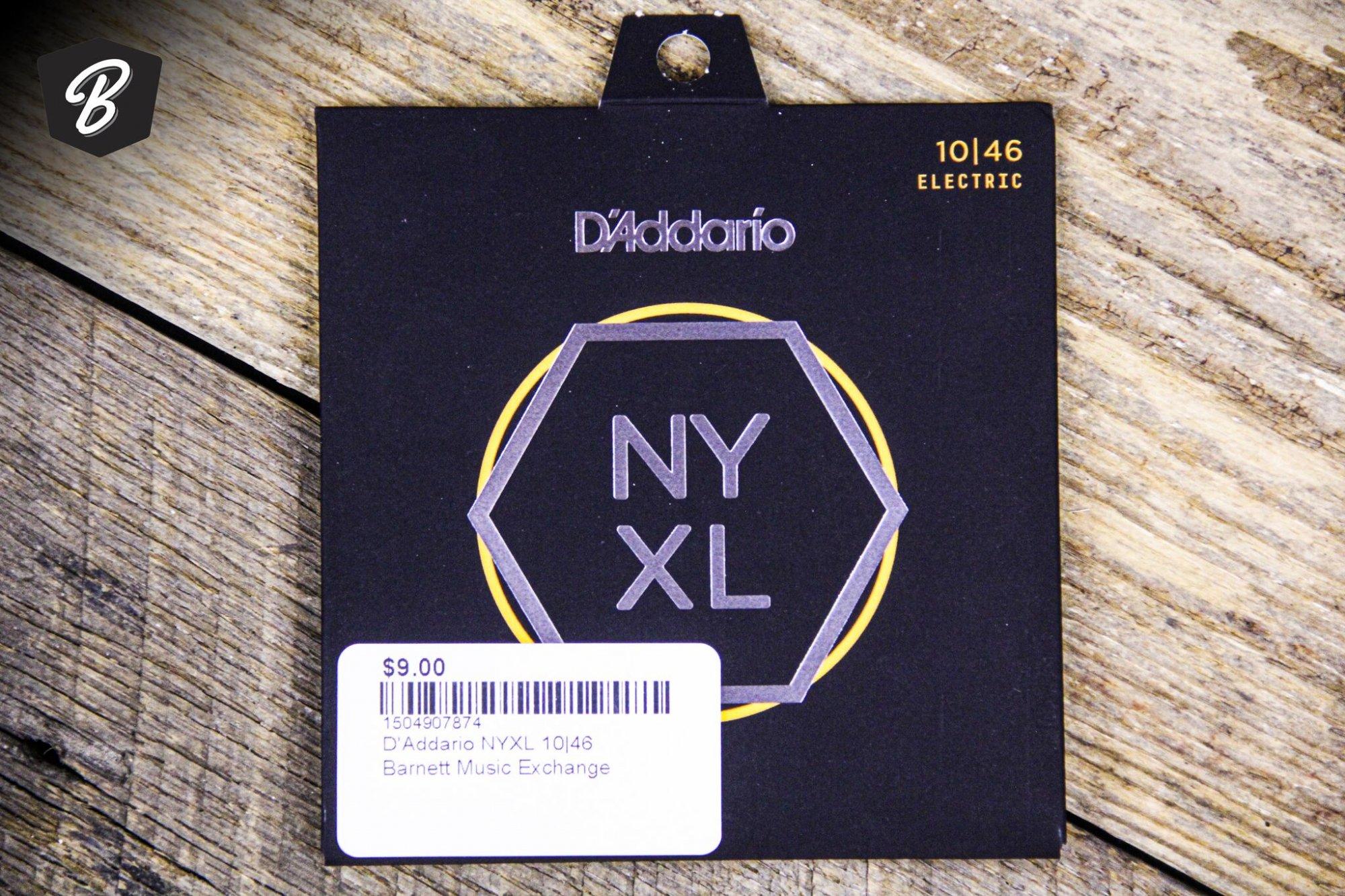 D'Addario NYXL 9.5|44