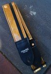 Couch Gold Sparkle Racer Guitar Strap
