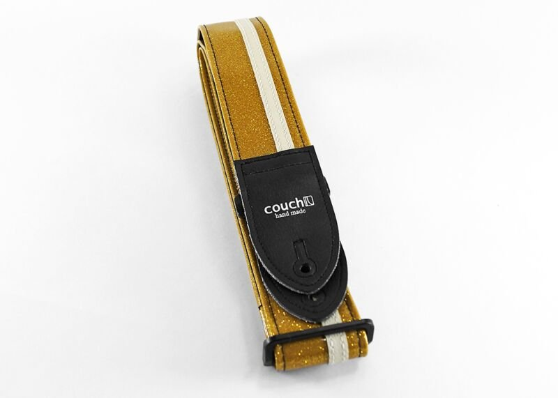 Couch RX031 Gold Sparkle w/ White RX Strap
