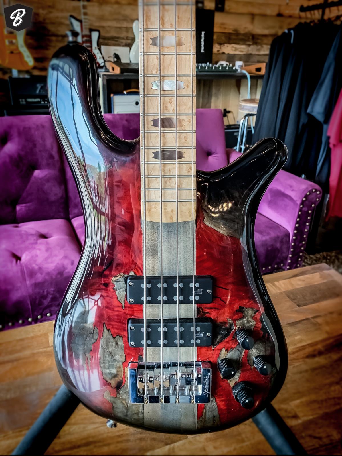 Spector NS-4 Blood & Steel Summer NAMM '19 Bass