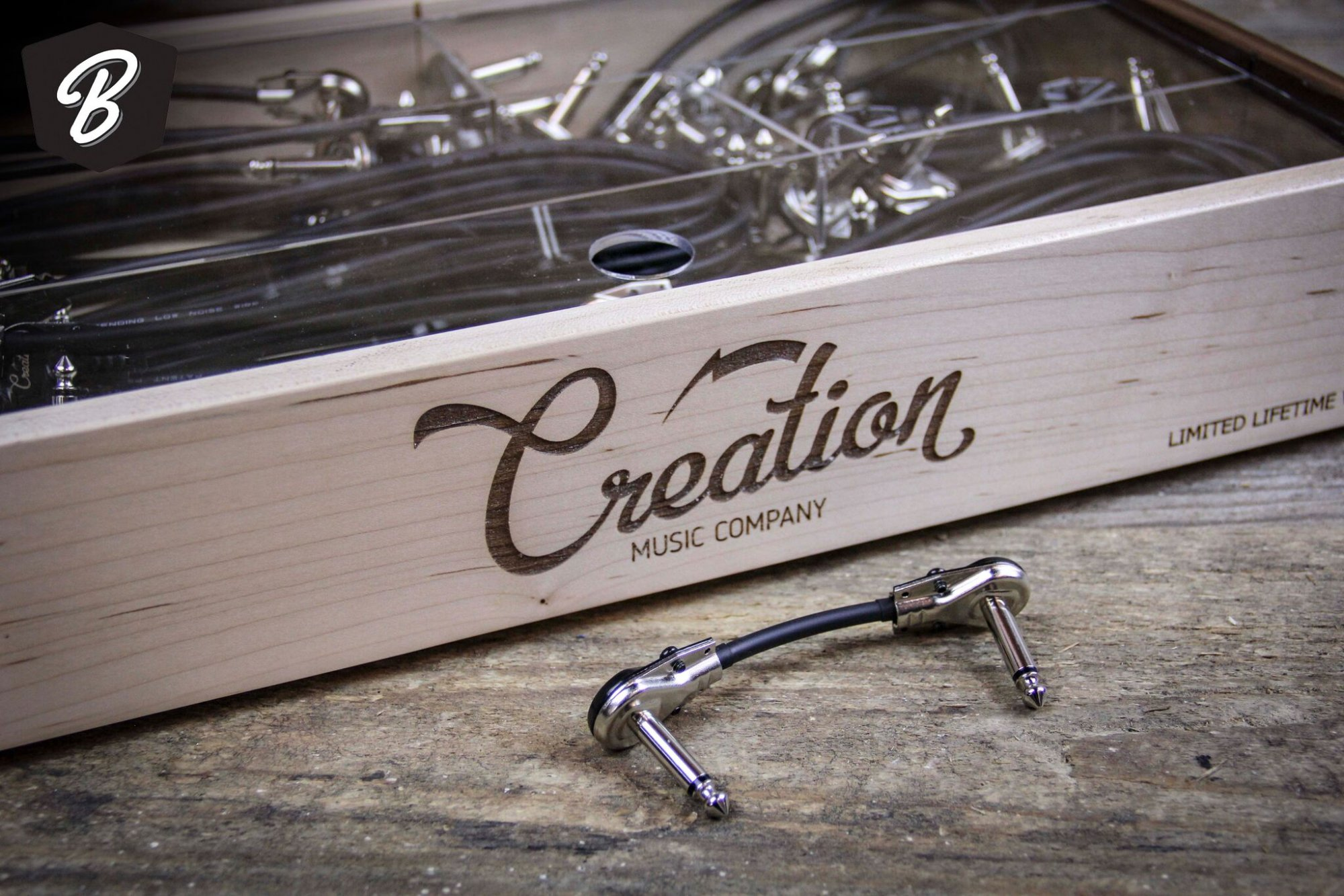 Creation Music Company Patch Cable 2