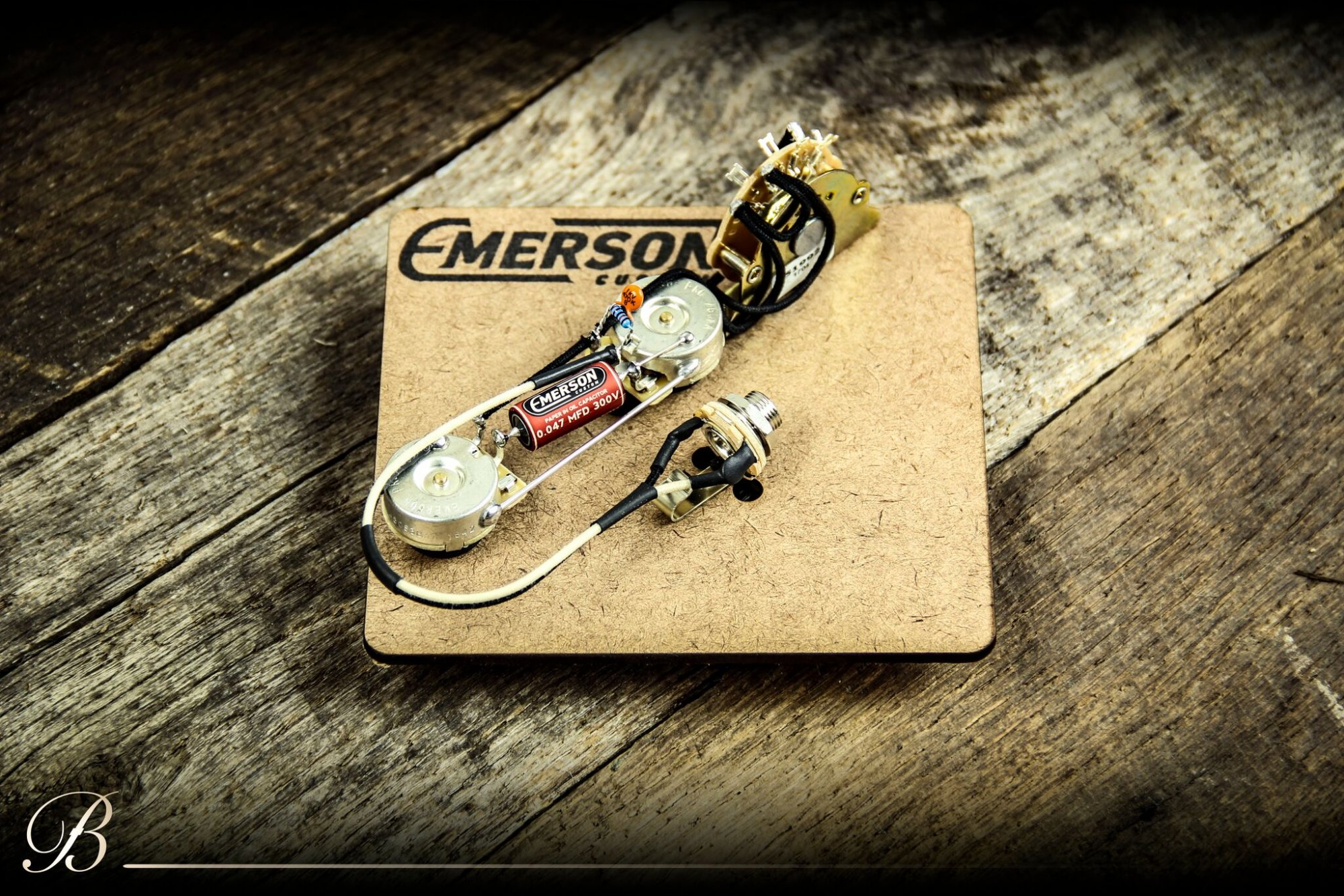 Emerson Custom  T4-250K 4-way Tele Prewired Kit