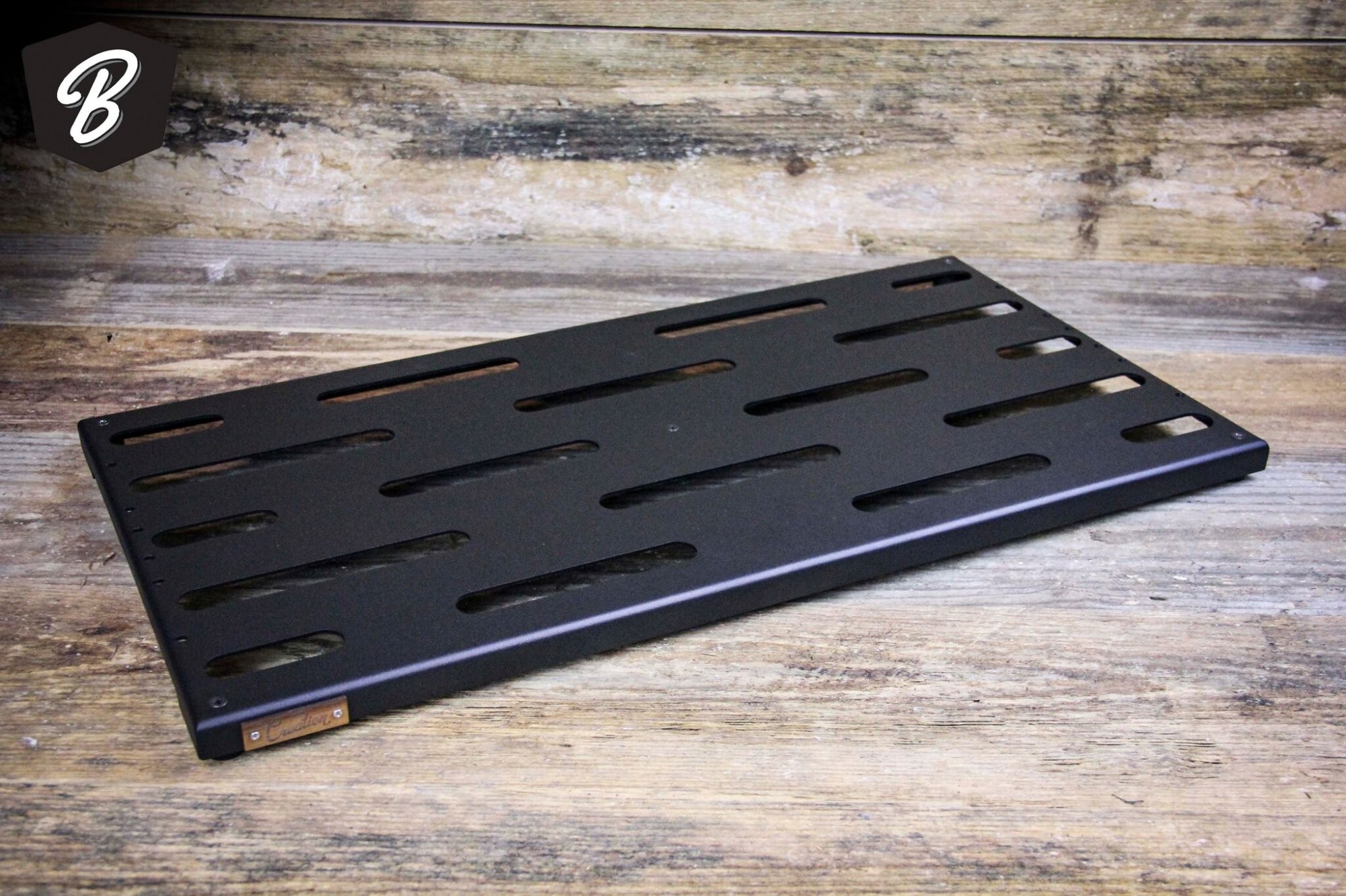 Creation Music Company 24x12.5 Aero Series Pedal Board in Gunmetal Grey w/Soft Case