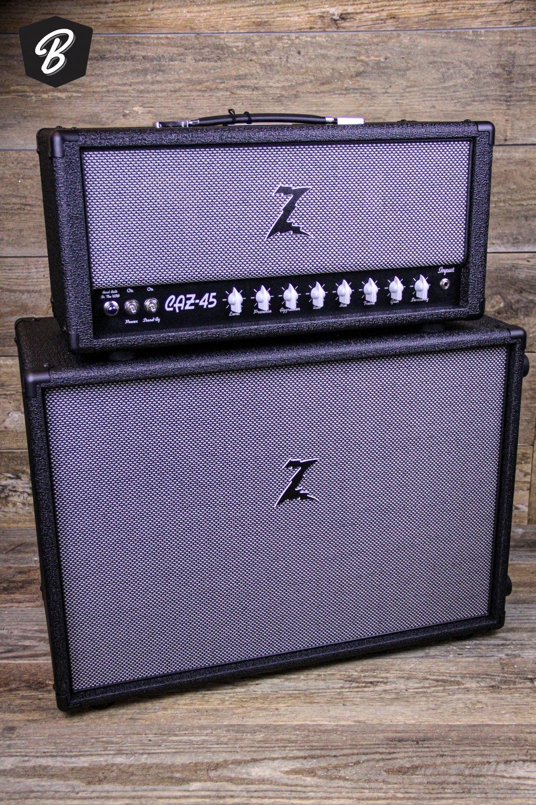 Dr. Z CAZ-45 & MATCHING Z BEST 2X12 Black Tolex