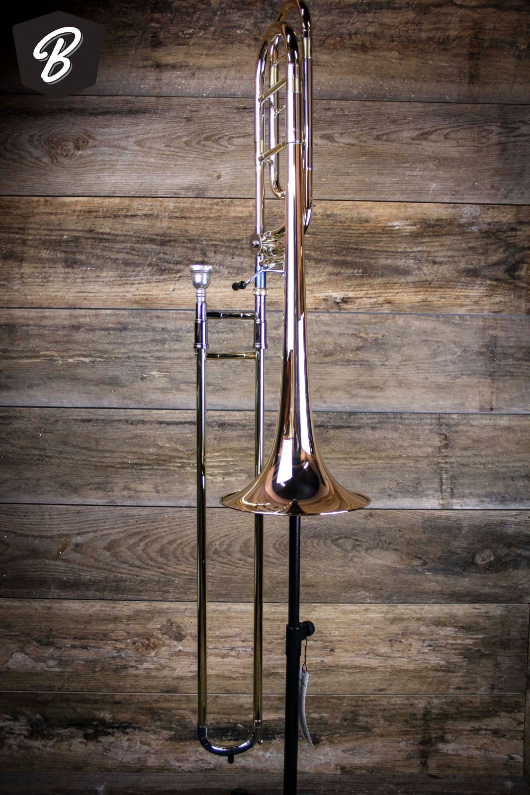 Getzen 1047FR Eterna Tenor Trombone w/Hardshell Case