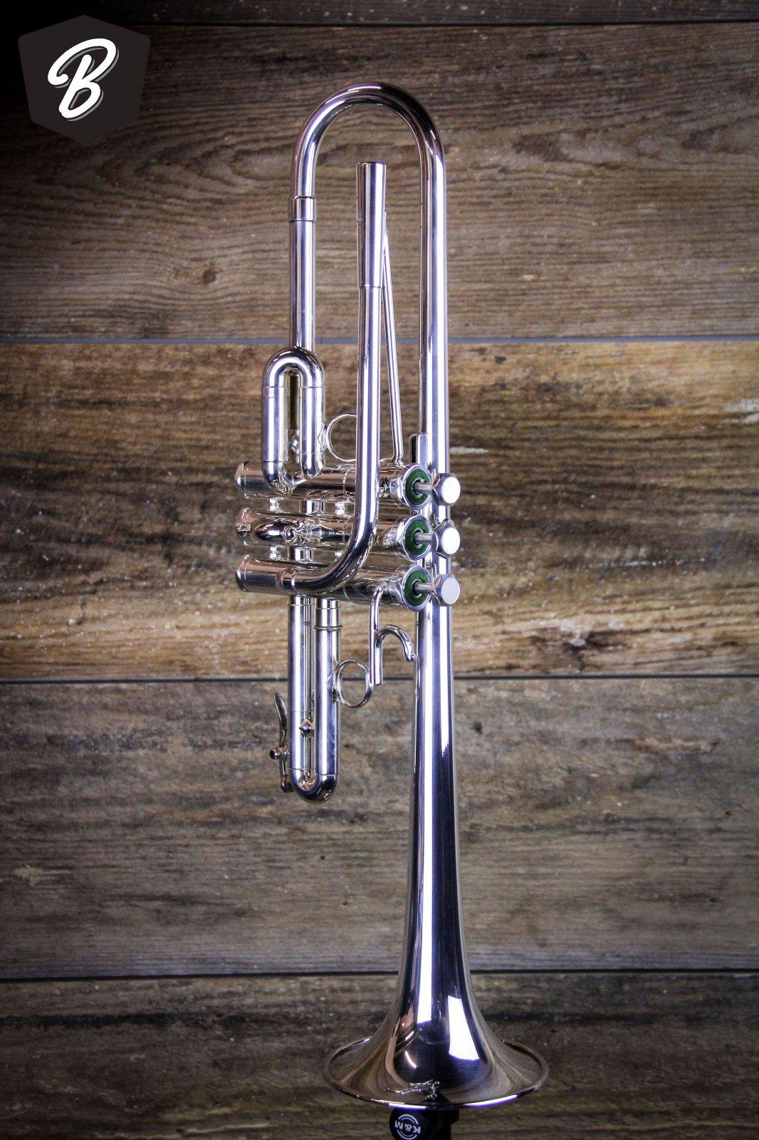 Schilke E3-L D/Eb Tunable Bell Trumpet in Silver Plate w/Case