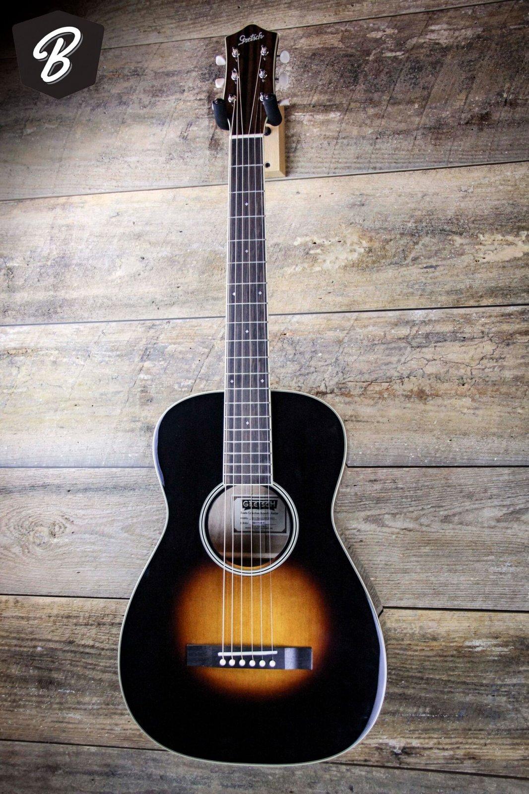 Gretsch G9511 Style 1 SPR SB GLS- Appalachian burst Parlor Guitar