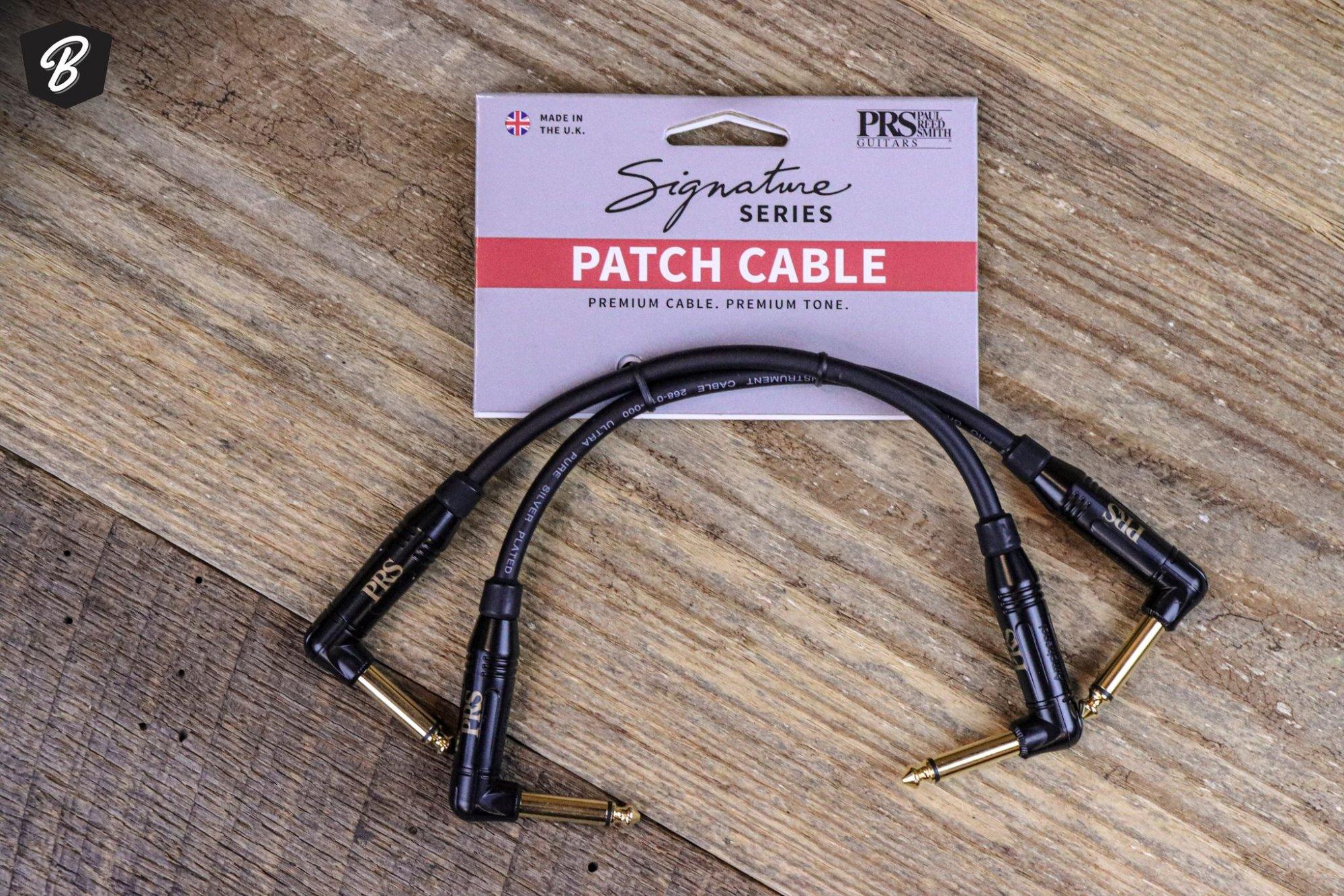 PRS Signature Series 6 Patch Cables- Includes 2