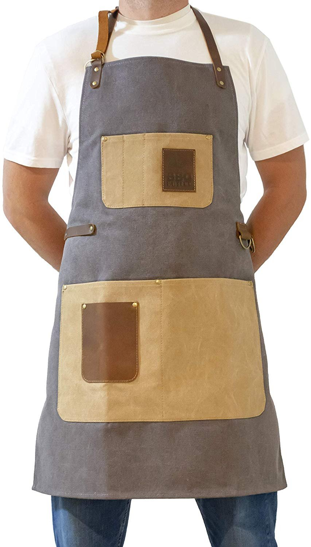 BBQ Butler - Premium BBQ Apron - Grey