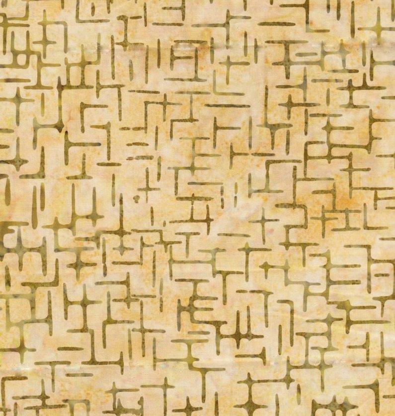 Anthology Fabric Yellow/Grey
