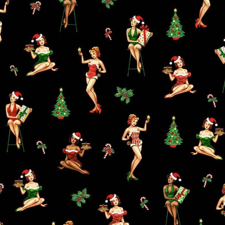 Christmas Darlings Black