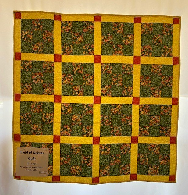 Field of Daisies Quilt