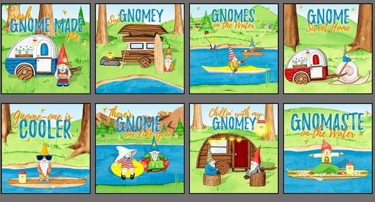 Hangin' With My Gnomies Blocks Panel