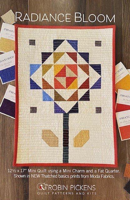 Radiance Bloom Mini Quilt Kit