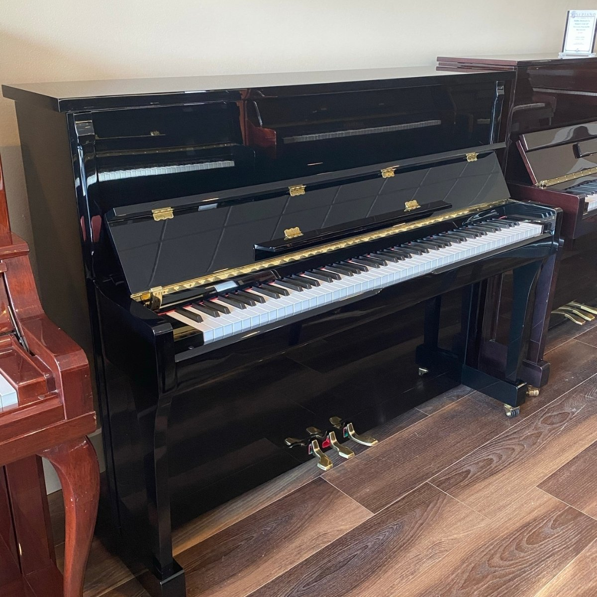 RENTED - Hallet, Davis & Co. 45 Upright Piano