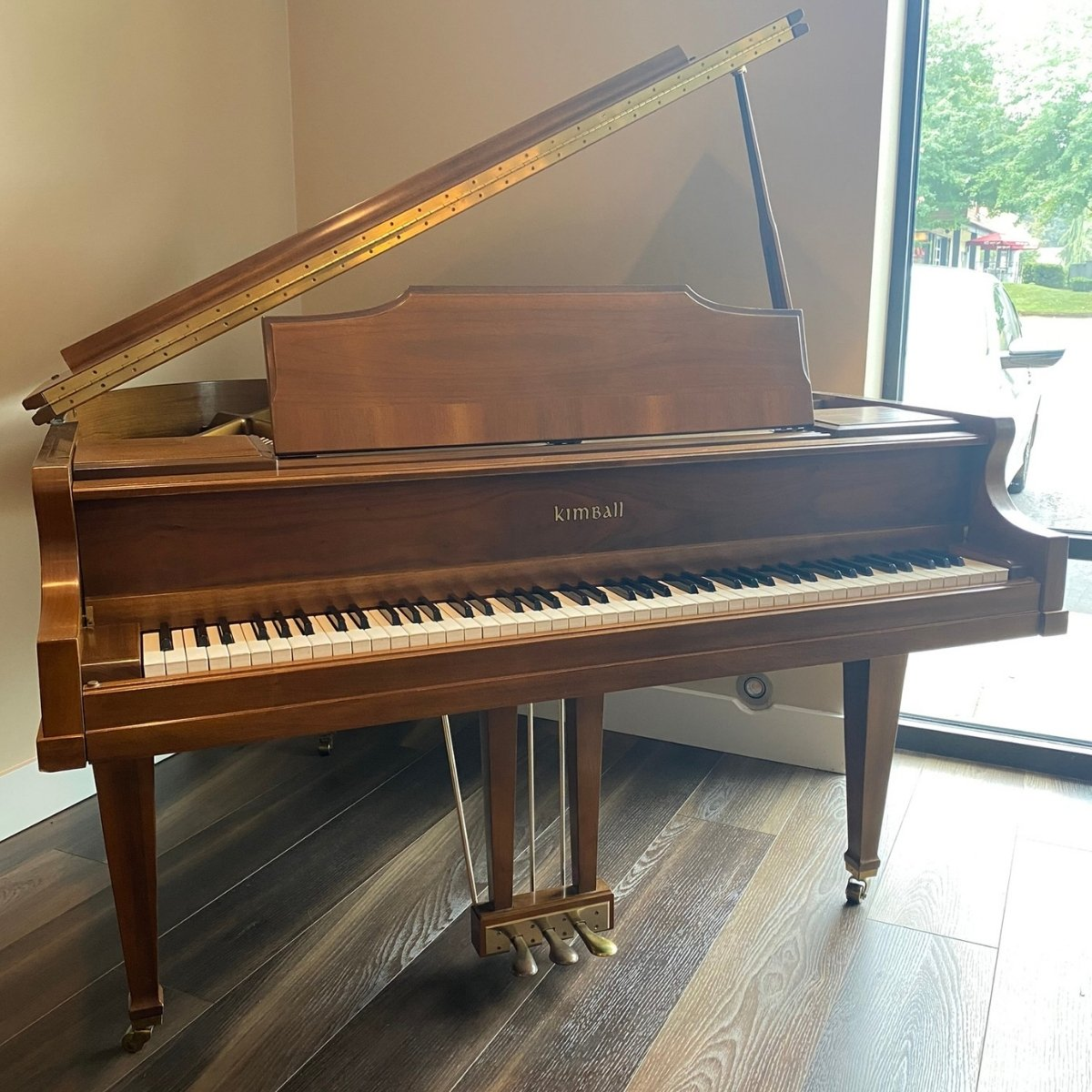 SOLD - Kimball 4'10 Model M5102 Grand Piano