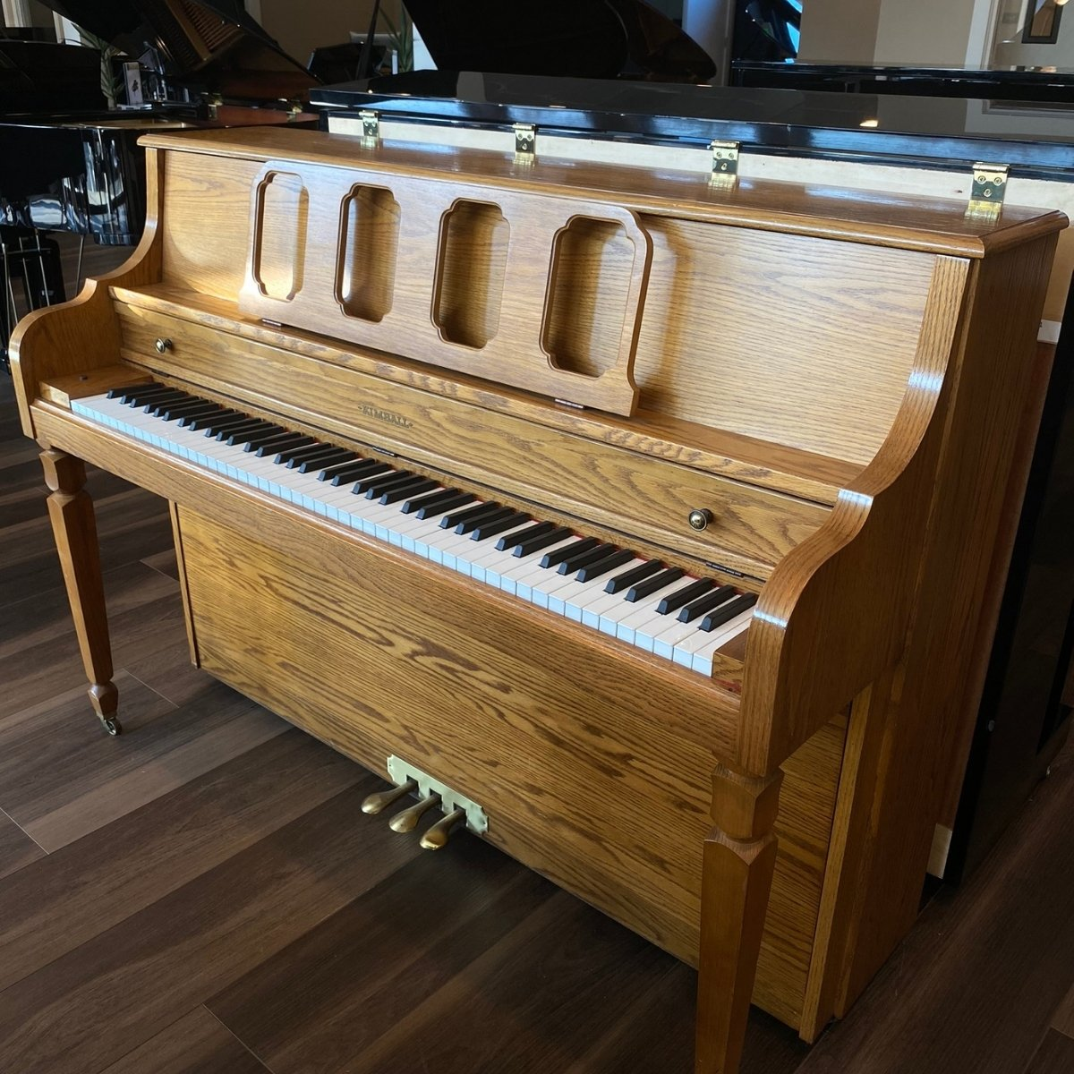 RENTED - Kimball 43 PL4 Upright Piano
