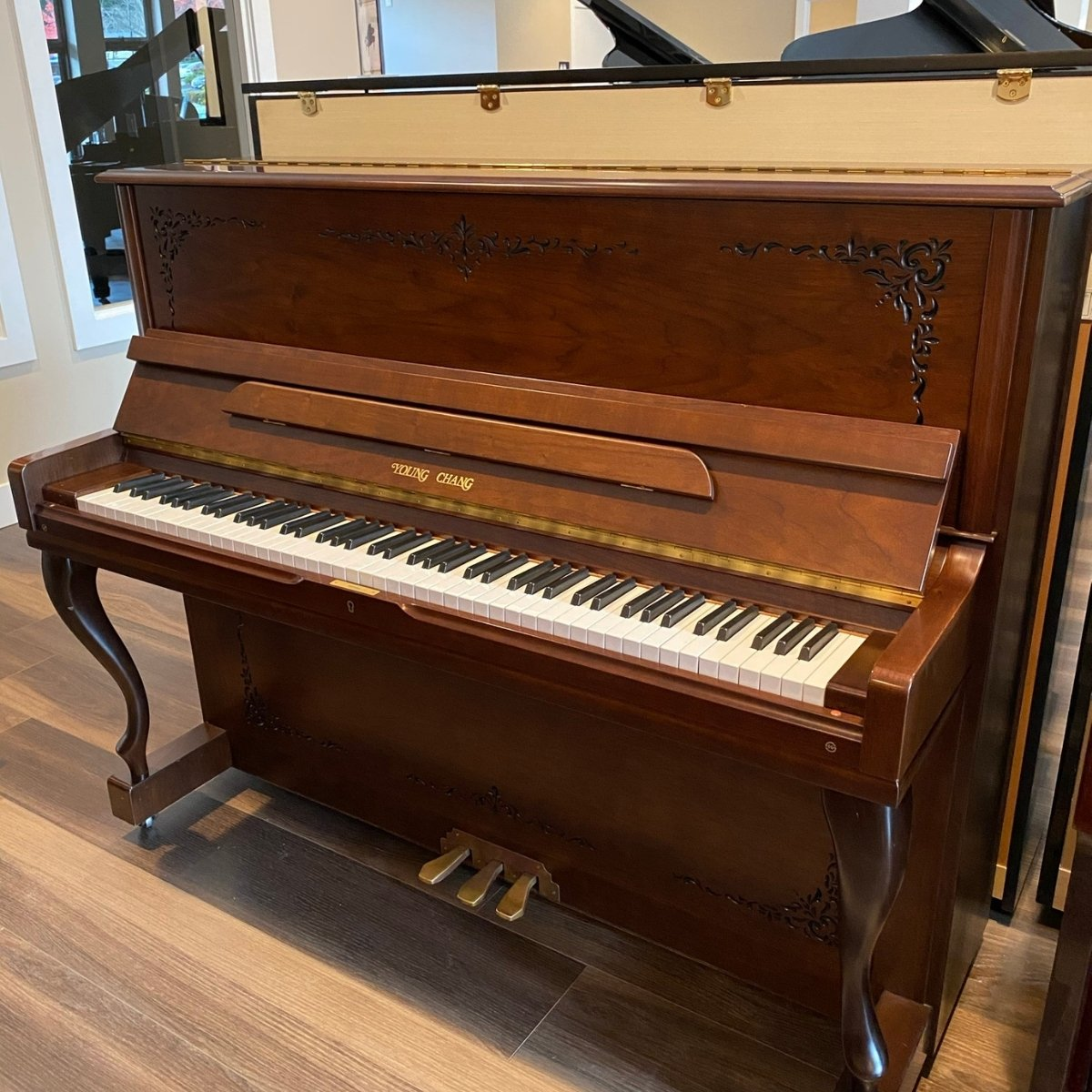 RENTED - Young Chang 47 Model U-121 Upright Piano