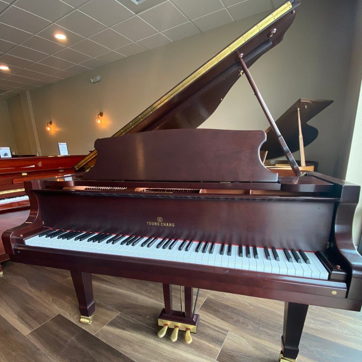 SOLD - Young Chang 5'1 Model PG-157S Grand Piano