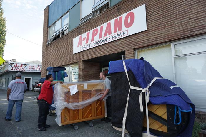 Beau Piano Storage