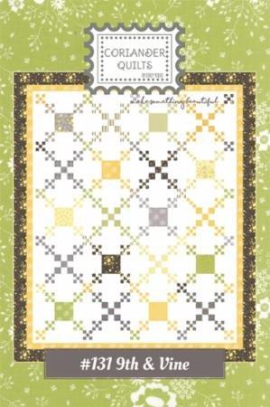 9th & Vine CQ 131 Coriander Quilts