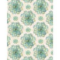 Bohemian Dreams 1077-89193 -171 Mandalas Cream by Wilmington Prints
