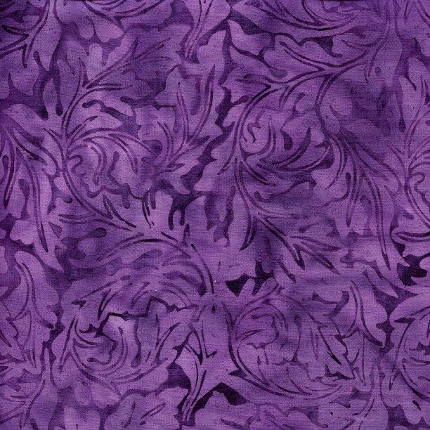 Acanthus Purple Island Batik 111818480