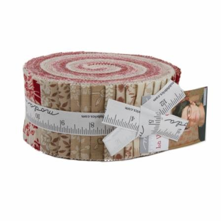 La Vie En Rouge Jelly Roll® 13820JR Moda Precuts