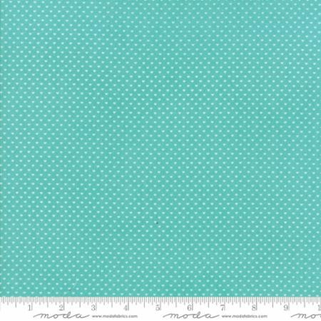 Home Sweet Home Aqua Swiss Heart Yardage SKU# 20577-17
