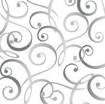 Christmas Dreams Scroll Black/White Quilting Treasures