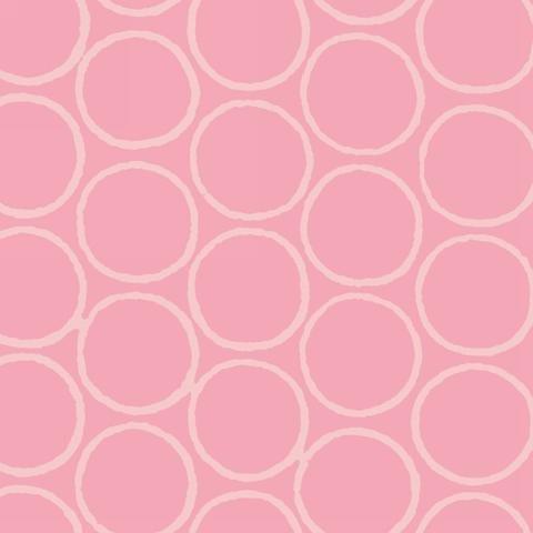 Modern Batiks - Circles in Pink - 3761-22