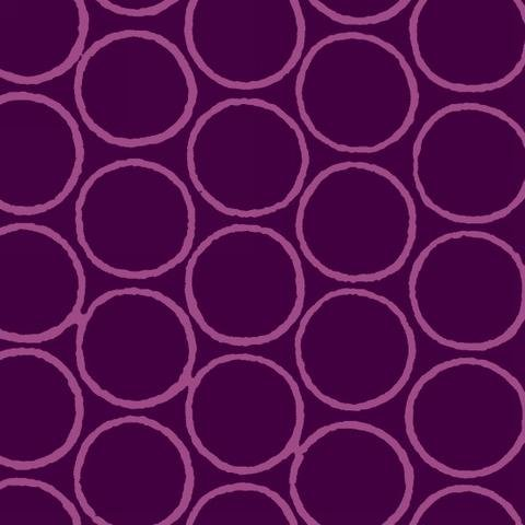 Modern Batiks - Circles in Purple - 3761-57