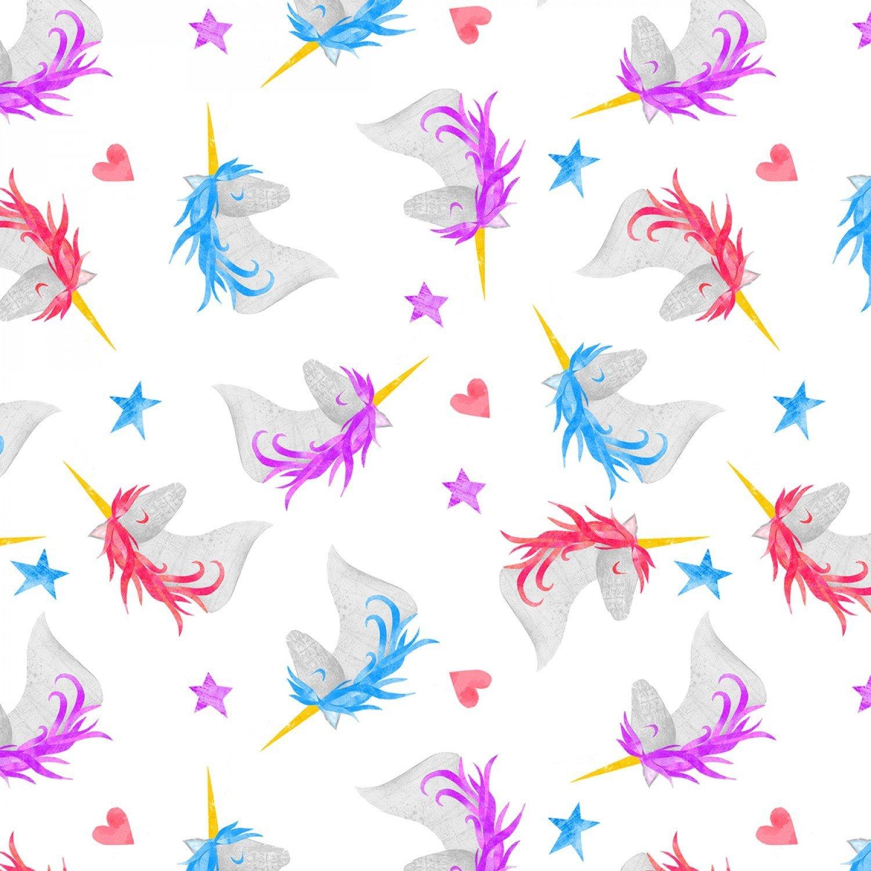 Wilmington Sparkle Magic Shine by Melissa Averinos 83104 136 White Unicorns