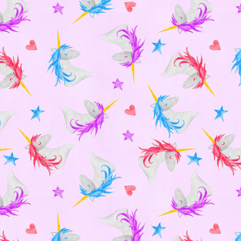Wilmington Sparkle Magic Shine by Melissa Averinos 83104 636 Purple Unicorns