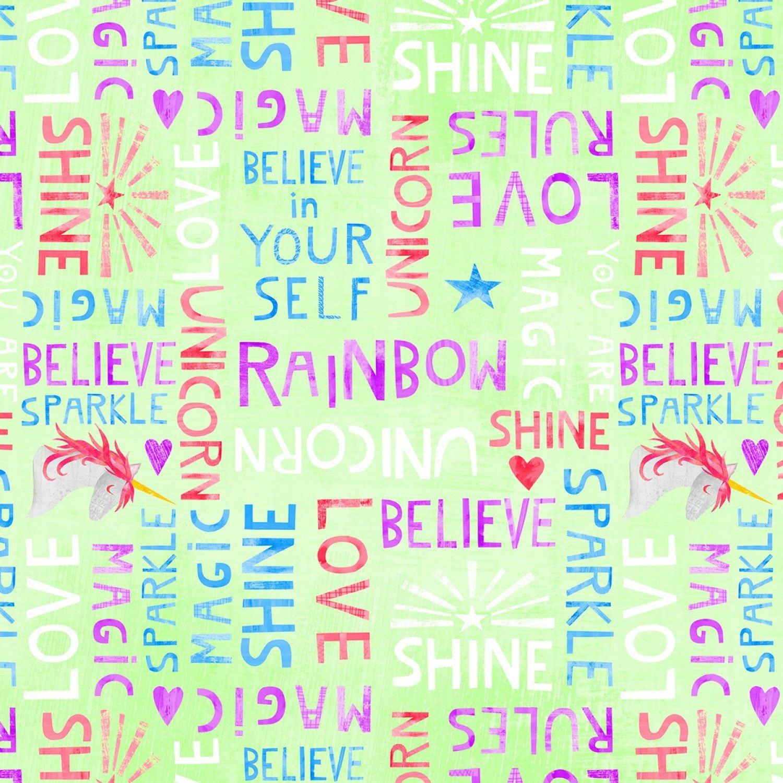 Wilmington Sparkle Magic Shine by Melissa Averinos 83105 736 Lime Words