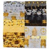 A Bee's Life 10 Karat Crystals by Michael Davis for Wilmington Prints
