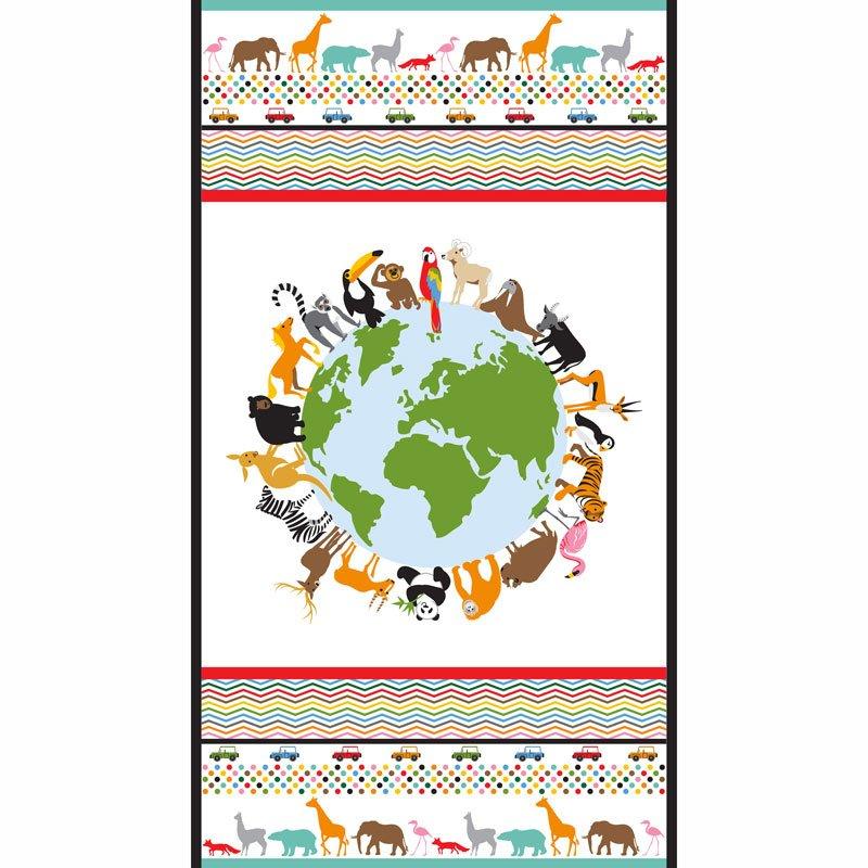Little Explorers - Animals Earth Multi Panel