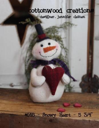 Snowy Heart # CWC648