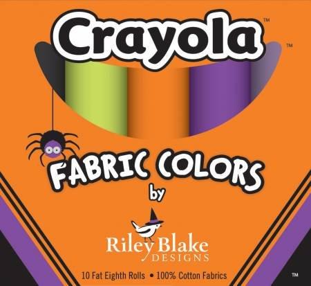 Fat Eight Crayola Box Halloween Colorway 9in x 22in