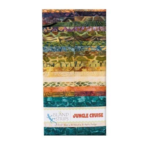 Jungle Cruise 2½ Strip Set By Kathy Engle
