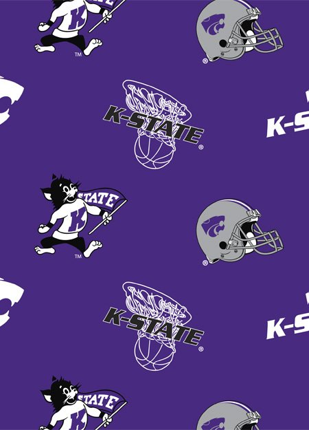 Kansas State Wildcats Tossed Logos 045