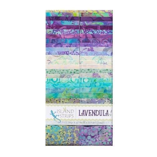 Lavendula 2½ Strip Set By Kathy Engle