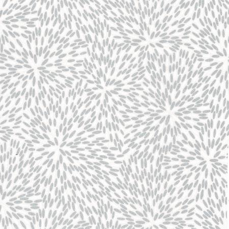 Hoffman Poinsettia Song   White Petal w/Metallic # P4322H-3S