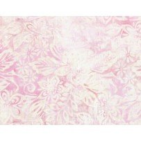 Wilmington Batiks 2018 Packed Floral Mix Cream/Pink 22177 133
